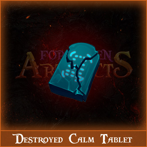 Destroyed Calm Tablet Image