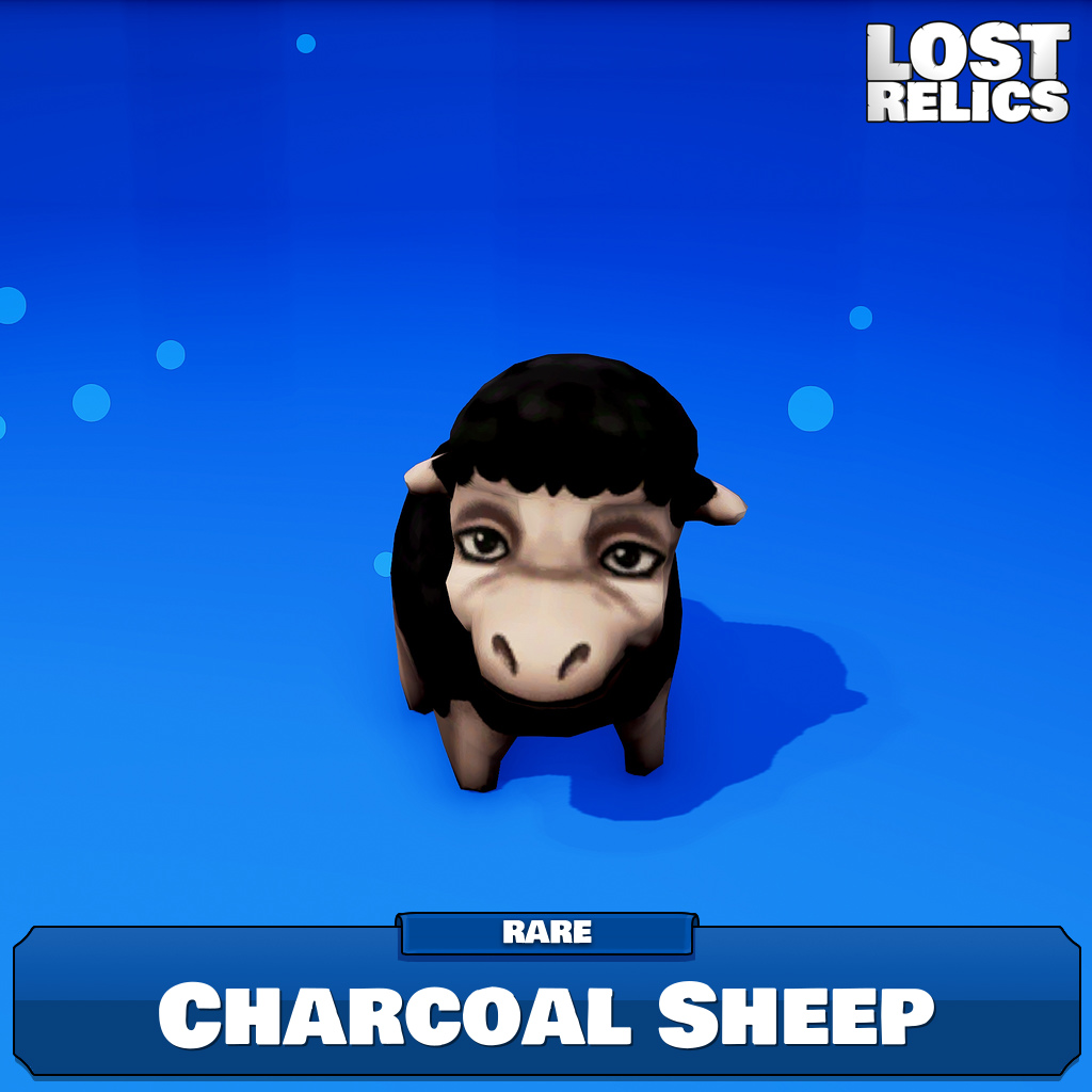 Charcoal Sheep Image