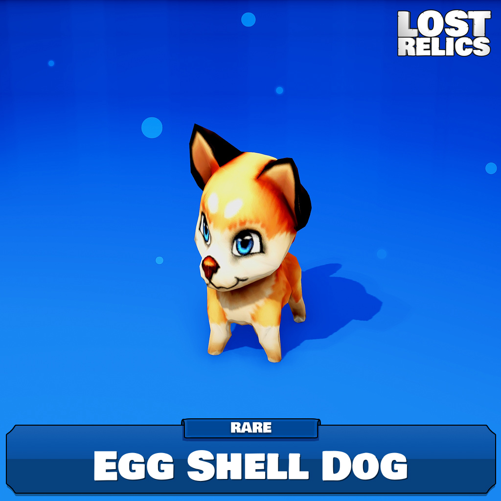 Egg Shell Dog Image