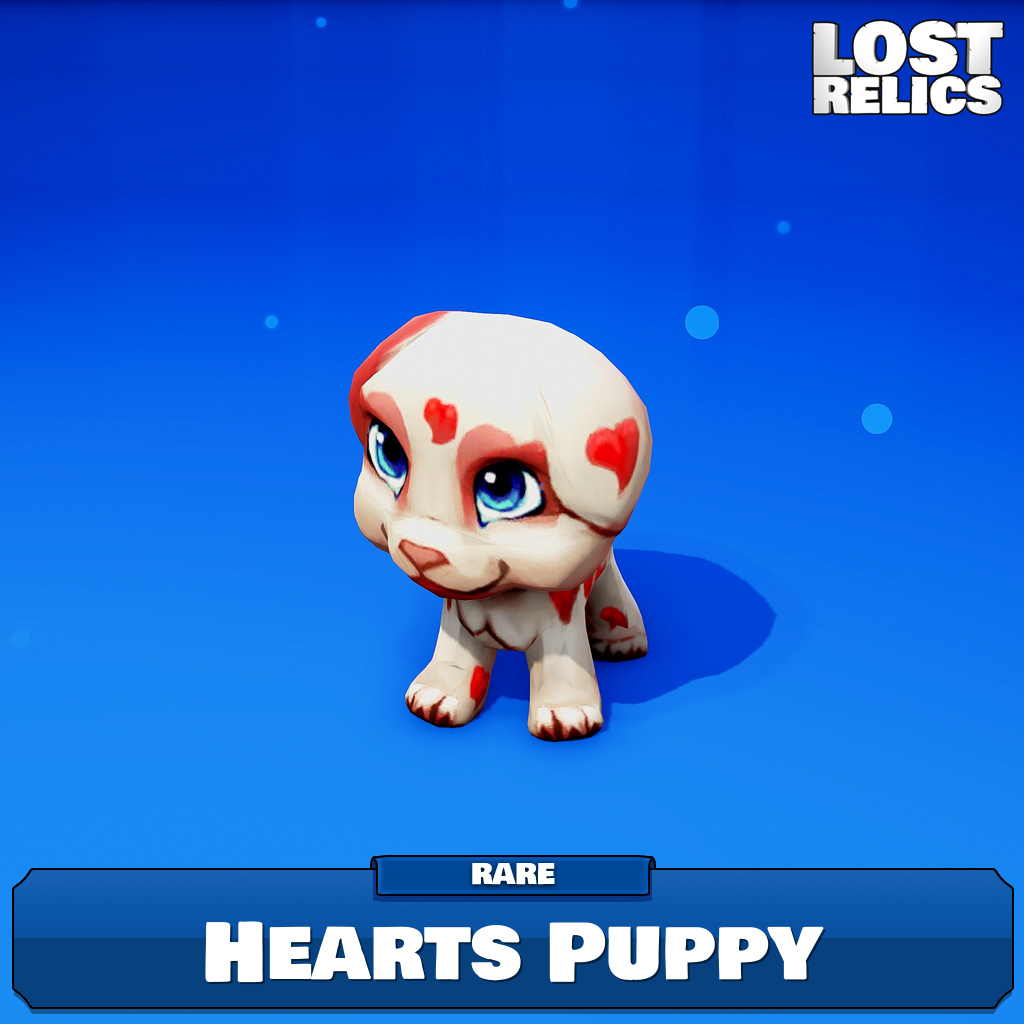 Hearts Puppy Image