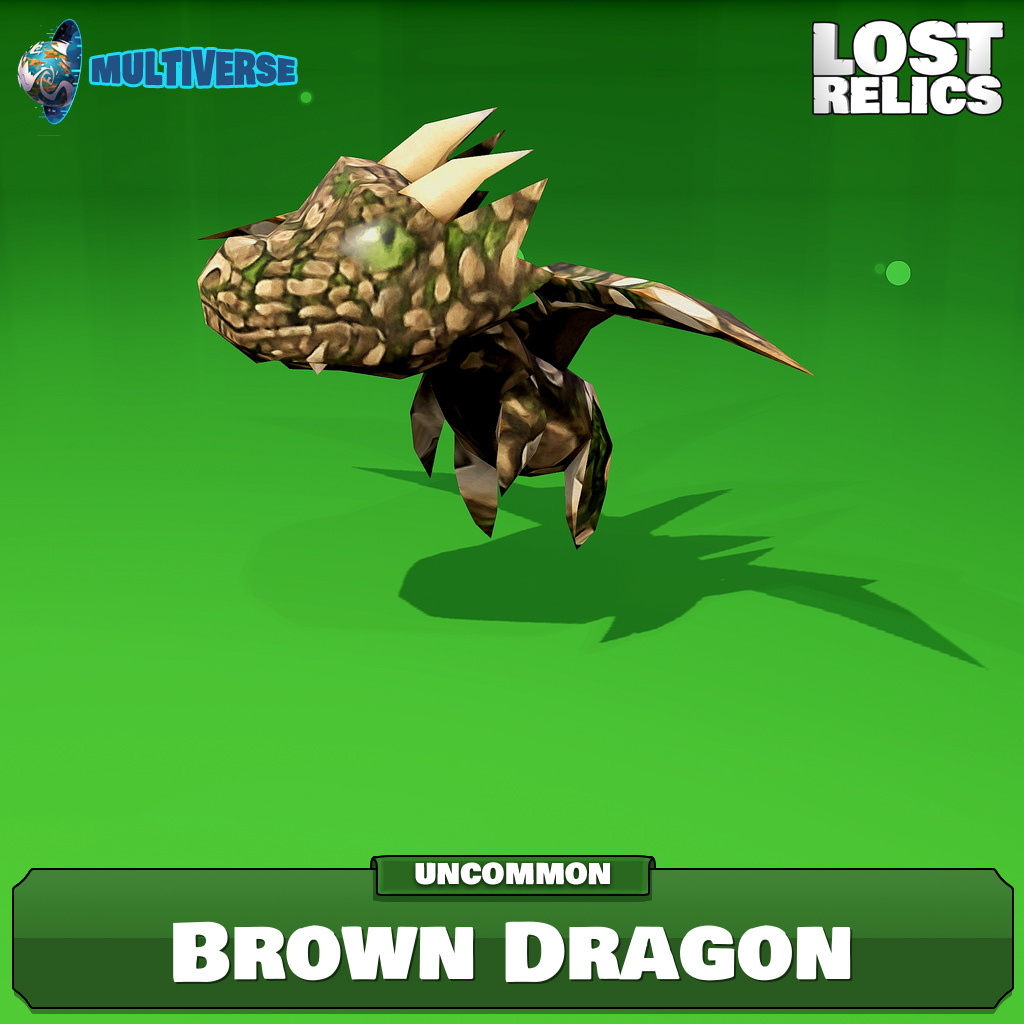 Brown Dragon Image