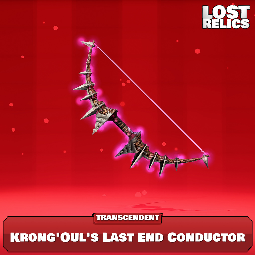 Krong'Oul's Last End Conductor Image