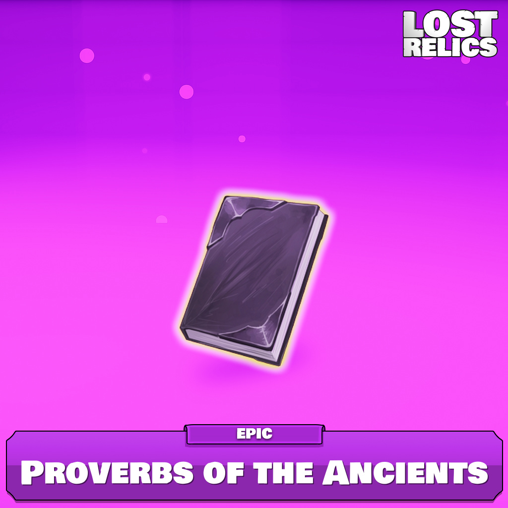 Proverbs of the Ancients Image
