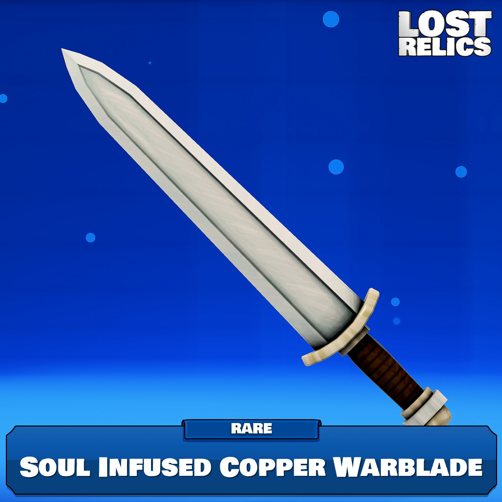 Soul Infused Copper Warblade Image